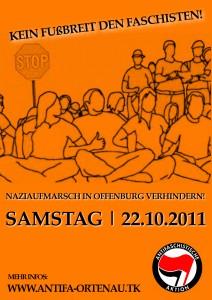 Naziaufmarsch in Offenburg verhindern!